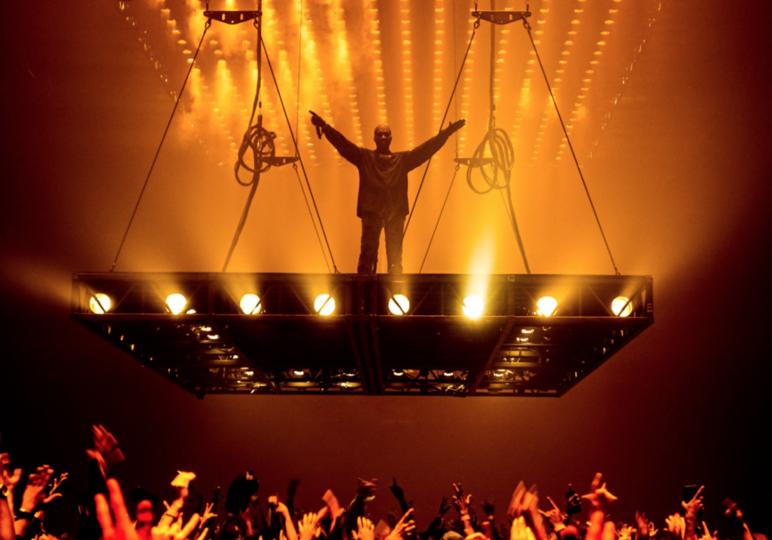 Kanye West Stage