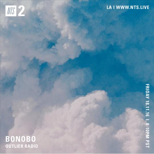 Bonobo Outlier 003 Mix Artwork