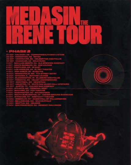 irene tour