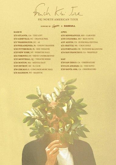 FKJ Tour Dates