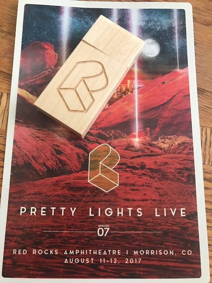Pretty Lights Red Rocks 2017