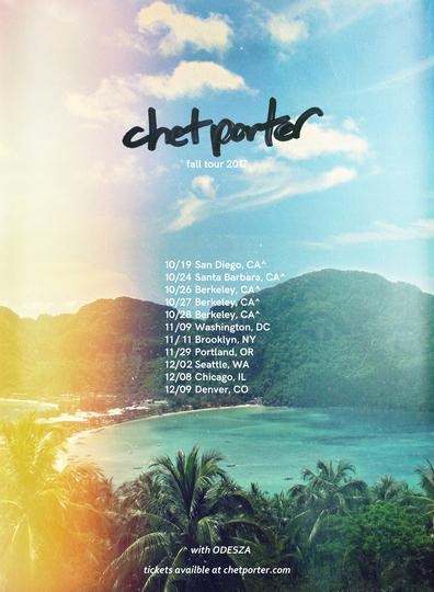 Chet Porter tour