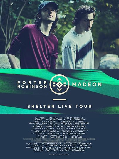 Madeon / Porter Robinson Fall Tour