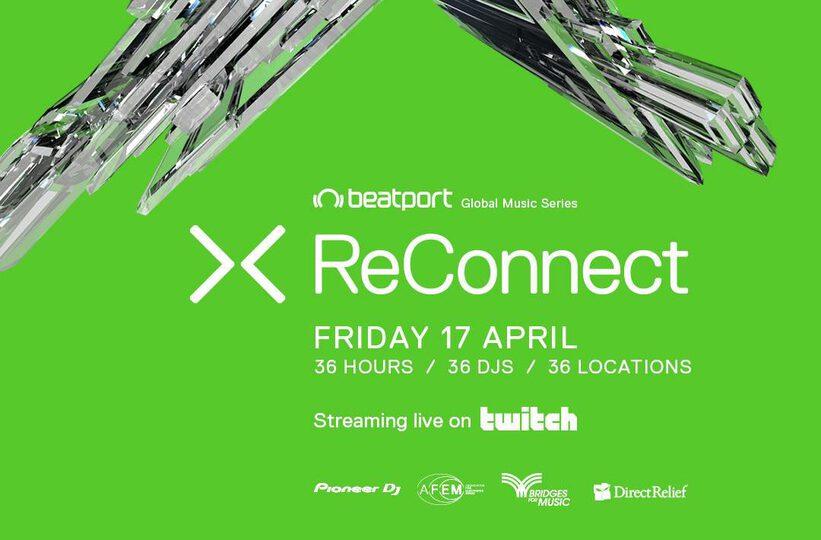 beatport reconnect livestream