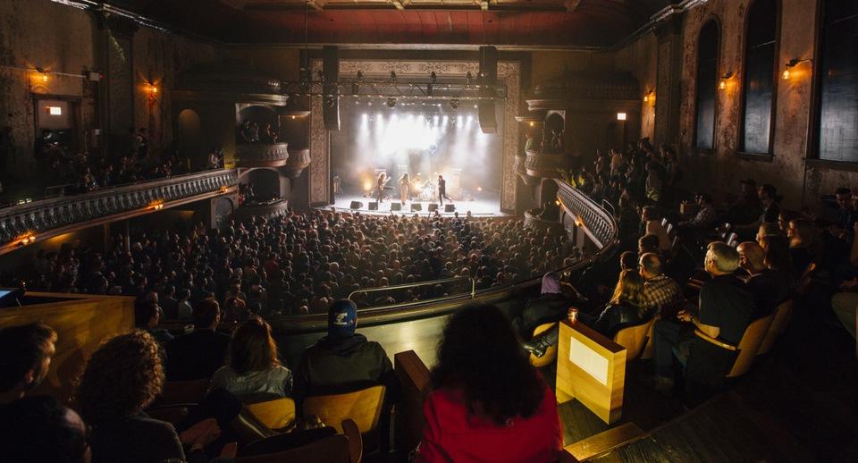 social distancing concert