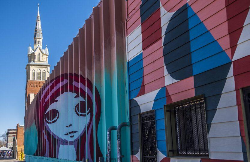 denver art district street cosures