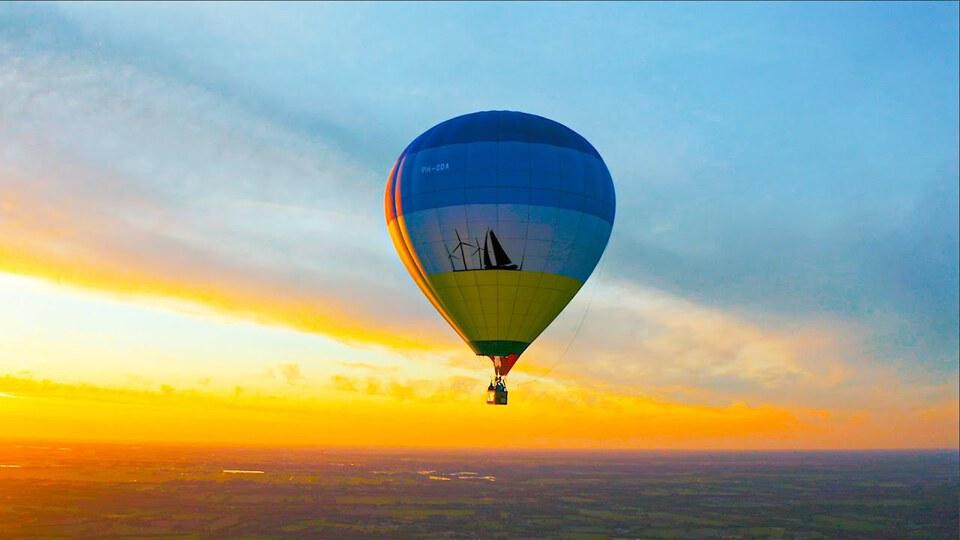 mr belt wezol hot air balloon set