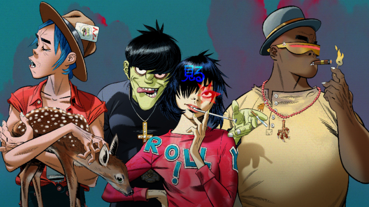 Gorillaz 'Song Machine Season 1- Strange timez'