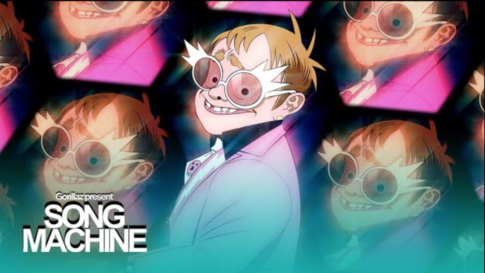 Elton John, 6LACK, Gorillaz team for 'The Pink Phantom'