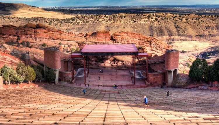 red rocks new stage