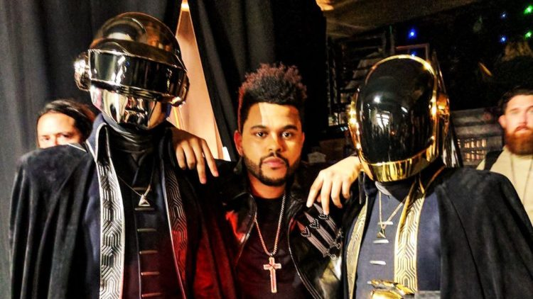 the weeknd daft punk super bowl