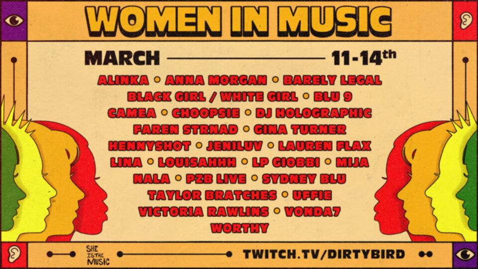 women in music lineup