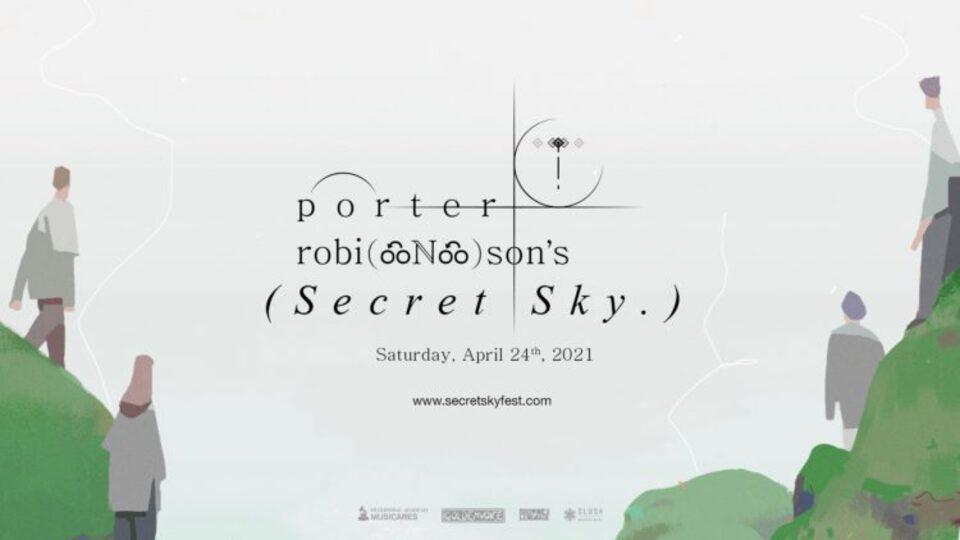 porter robinson secrety sky lineup