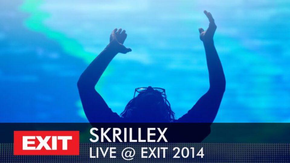 skrillex exit festival 2014
